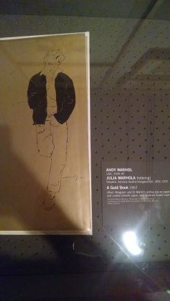 Andy Warhol's 'Gold Book'